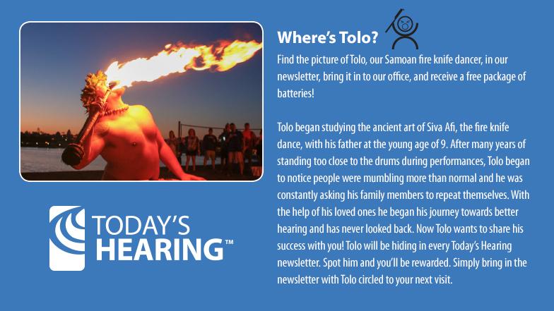 Where's Tolo? Today's Hearing - Katy - Houston